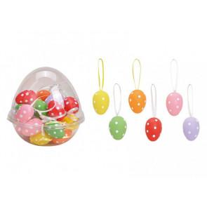 Set závěsných velikonočních vajíček 24ks