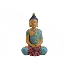 Budha sedící polyresin 33x54x23cm