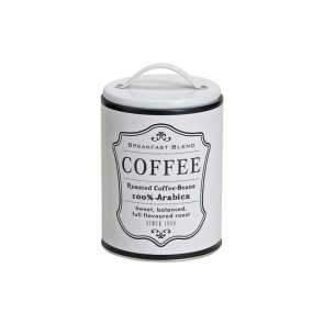 Kovová dóza na kávu 16x10cm