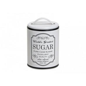 Kovová dóza na cukr 16x10cm