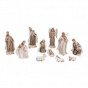 Betlém porcelánový 11figur 3-17cm GWU