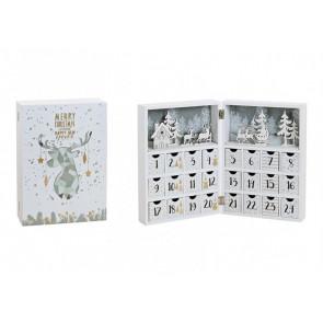 Adventní kalendář kniha