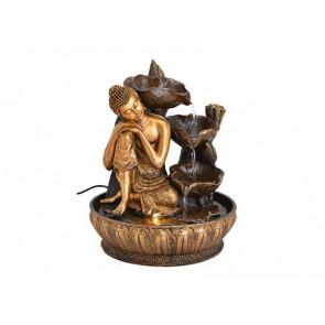 Interiérová fontána Buddha 23x30x23 cm