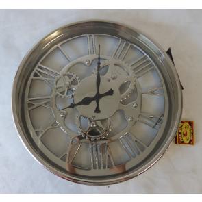 Nástěnné hodiny kovové 36cm