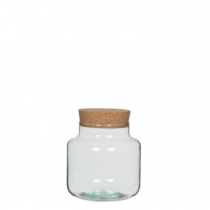 Skladovací sklenice s korkem Chela