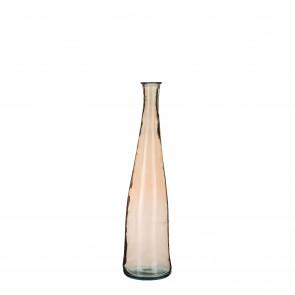 Skleněná váza Alto hnědá 80x18cm