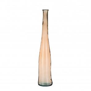 Skleněná váza Alto hnědá 100x18cm