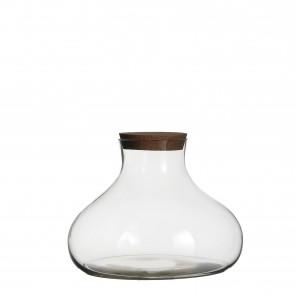 Skladovací sklenice s korkem Gilly 26x36cm