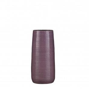 Váza keramická Floyd 45x19cm fialová