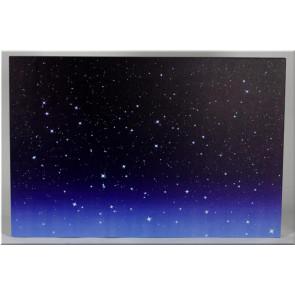 LED Obraz jasná obloha