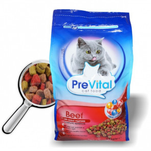 PreVital Cat hovězí 1,8kg