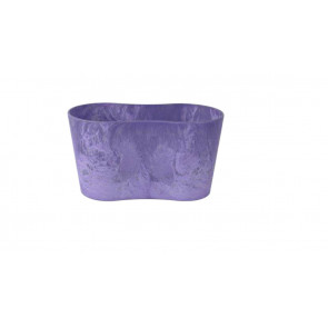 Květináč Artstone double Claire grape d26xš13xh14 cm