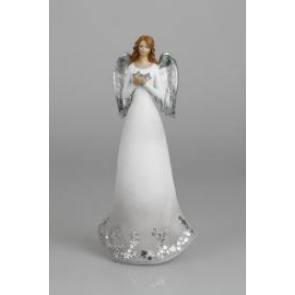 Anděl bílý 27cm