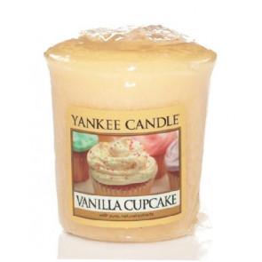 YANKEE CANDLE votivní svíčka - Vanilla Cupcake 50g