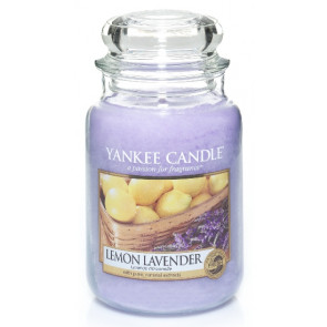 YANKEE CANDLE Classic velký - Lemon Lavender 625g