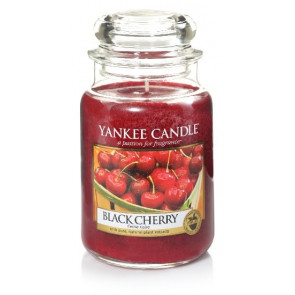 YANKEE CANDLE Classic velký - Black Cherry 625g