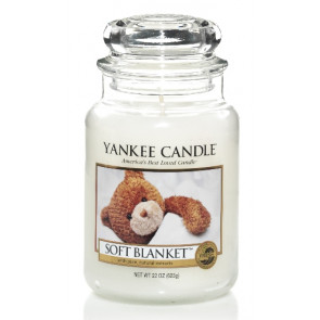 YANKEE CANDLE Classic velký - Soft Blanket 625g
