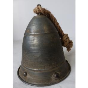 Zvonek plechový 22cm