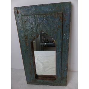 Zrcadlo Indie modrá 21x38cm