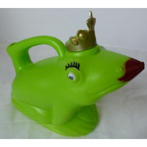 Konvička Žabí královna zelená plast