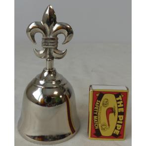 Zvonek stříbrný niklový