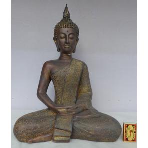 Buddha zlatý 40cm