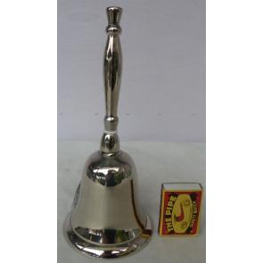 Zvonek niklový 20cm