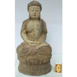 Buddha 5 starý dřevěný