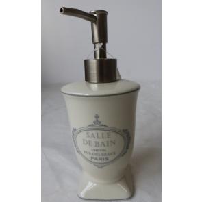 Mýdlenka na tekuté mýdlo s pumpičkou 8x19cm