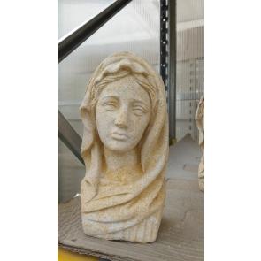 Panna Marie-busta pískovec 210mm