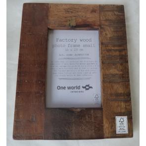 Fotorámeček dřevěný 15x20cm