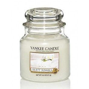 YANKEE CANDLE Classic střední - Fluffy Towels 411g