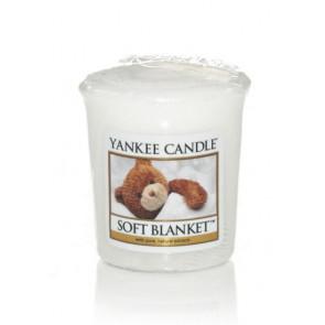 YANKEE CANDLE votivní svíčka -  Soft Blanket 50g