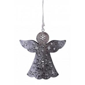 Dekorace na zavěšení anděl vyřezávaný malý