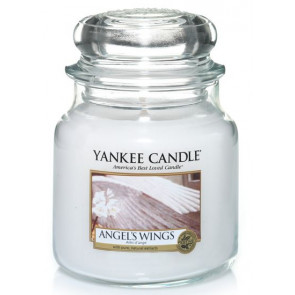 YANKEE CANDLE Classic střední - Angel's wings classic