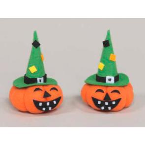 Dekorace dýně Halloween 8cm 2ks