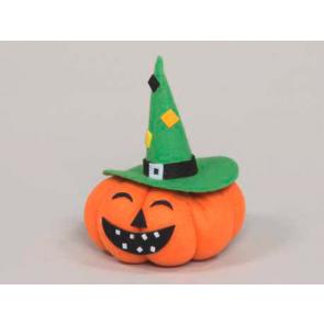 Dekorace dýně Halloween 13,5cm