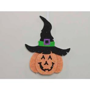 Dekorace dýně halloween 12,5x16cm
