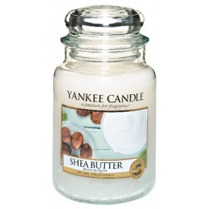 YANKEE CANDLE Classic velký - Shea butter 625g