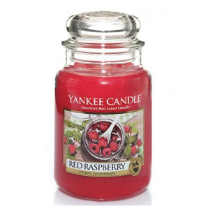 YANKEE CANDLE Classic velký - Red raspberry 625g
