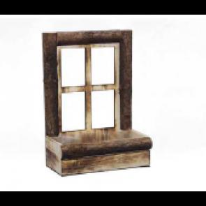 Dekorace okno 33x17,5x45cm