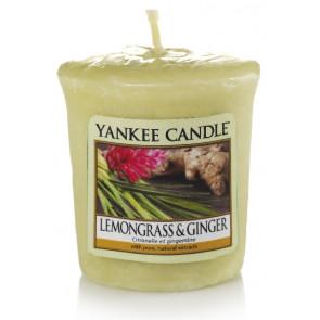 YANKEE CANDLE votivní svíčka - Lemongrass & Ginger 50g