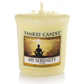 YANKEE CANDLE votivní svíčka - My serenity 50g