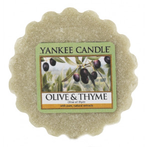 YANKEE CANDLE vosk - OLIVE & THYME 22g