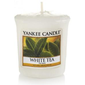 YANKEE CANDLE votivní svíčka - White Tea 50g