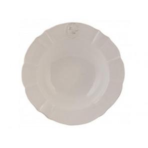 Hluboký talíř 21 cm, ptáček s korunkou