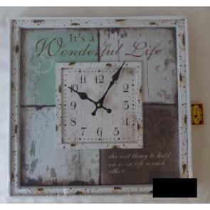 Nástěnné hodiny 40x40cm