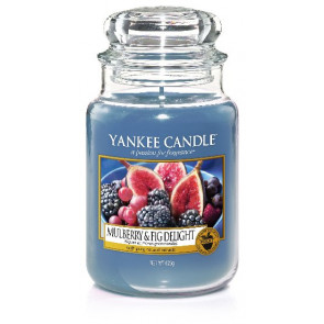 YANKEE CANDLE Classic velký - Mulberry & Fig Delight 625g