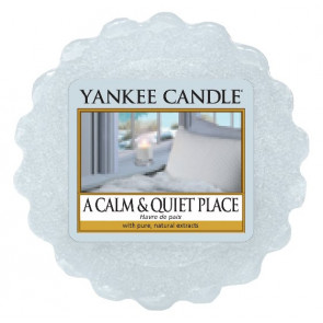 YANKEE CANDLE vosk - A calm and Quiet Place 22g