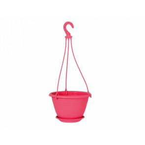 Květináč závěsný GALICIA d25cm růžová